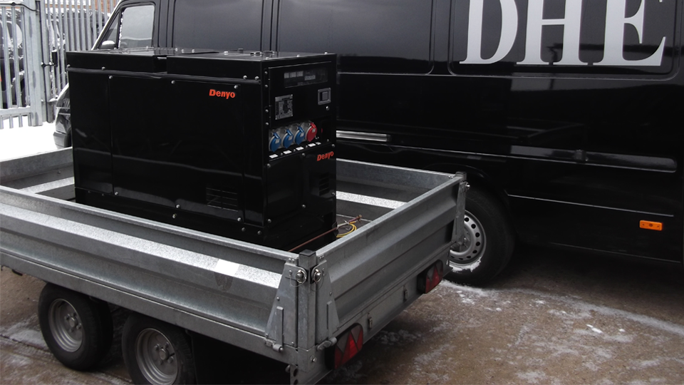 Tyne and Wear Stage Hire 12.5KVA Generator