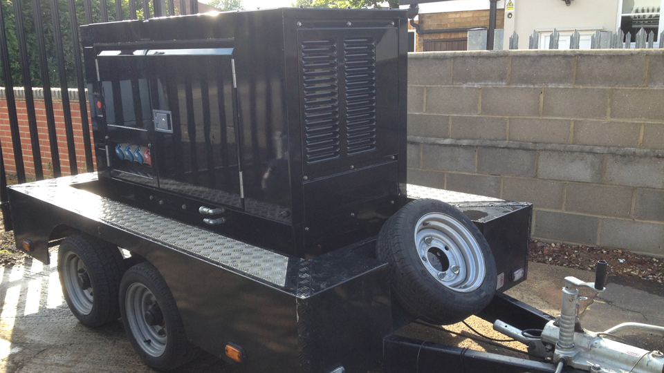 Tyne and Wear Stage Hire 20KVA Generator